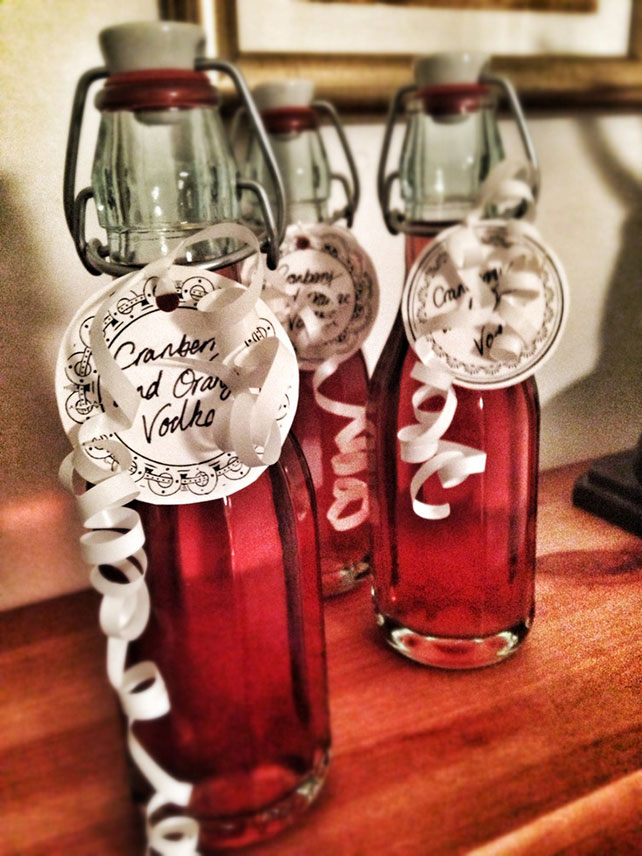 Cranberry & Orange Vodka
