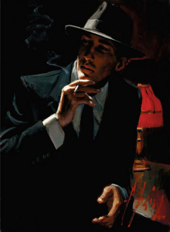 Hollywood Nights by Fabian Perez