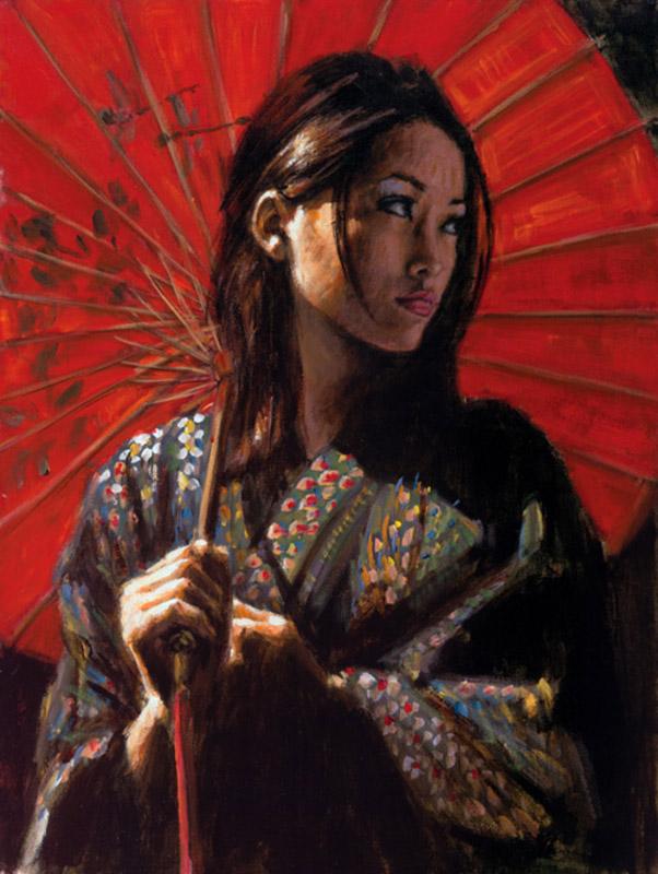 Michiko II by Fabian Perez