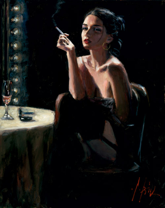 The Performers Break by Fabian Perez
