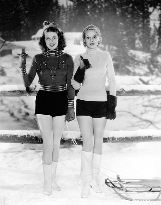 Ann Sheridan and Marie Wilson