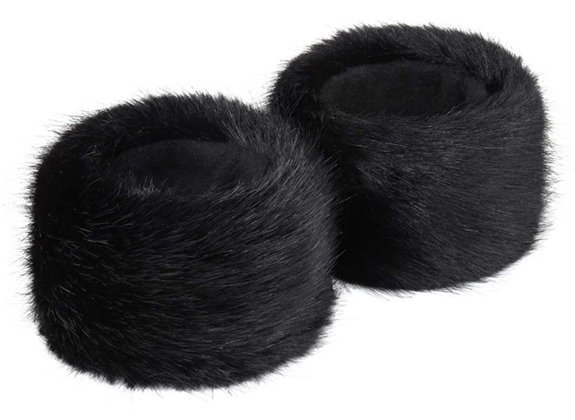 Faux Fur Cuffs from Helen Moore