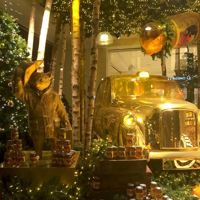 Selfridges Christmas Paddington Window