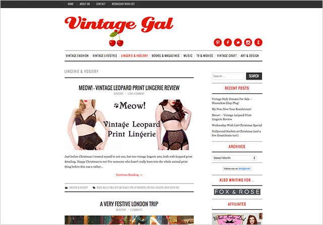 Vintage Gal new design