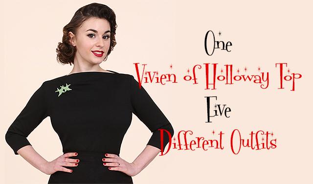 Vivien of Holloway Slash Top