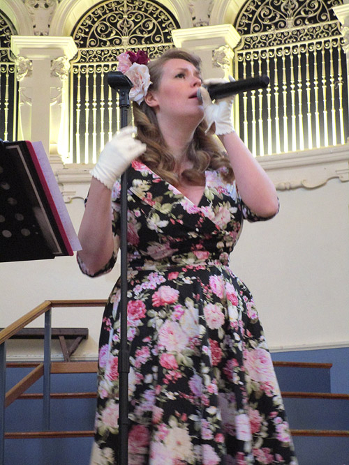 Lianna Haynes at Lou Lou's Vintage Fair, Oxford