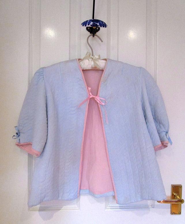 1940s bed jacket