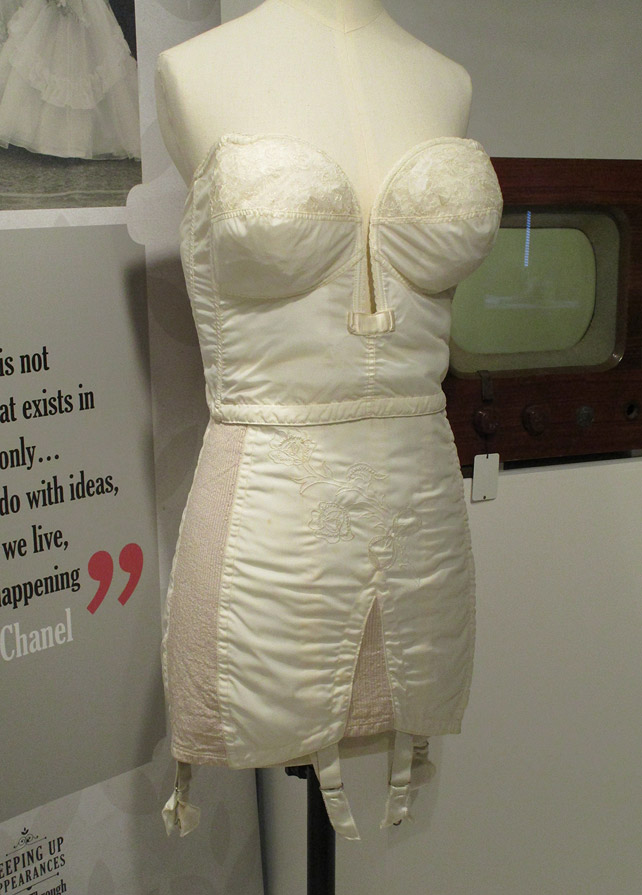 1950s bra and girdle