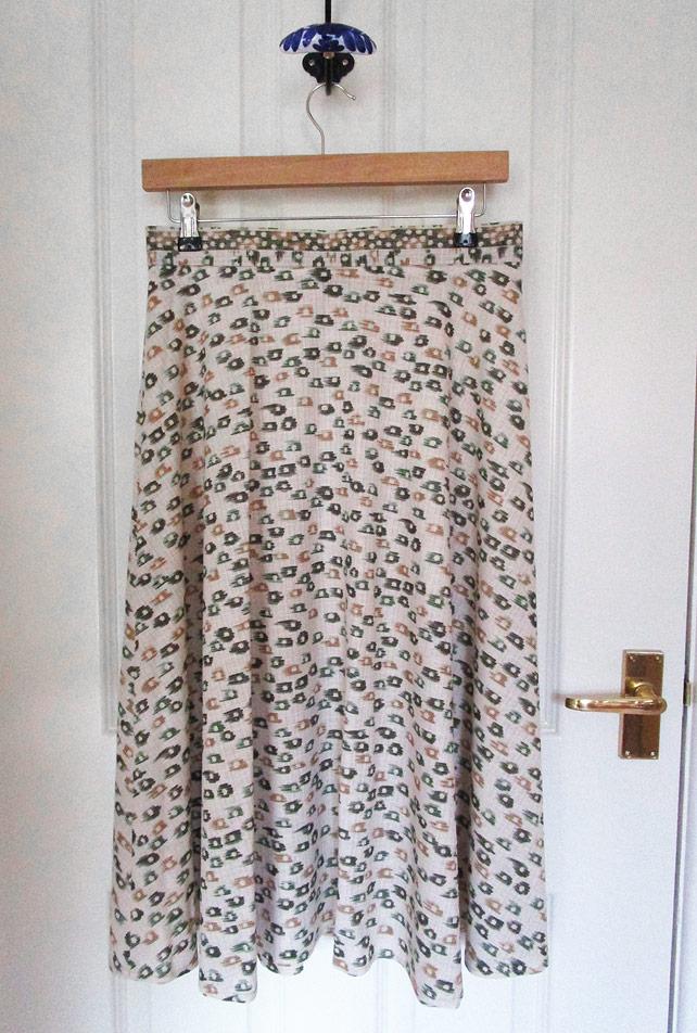 1970s skirt