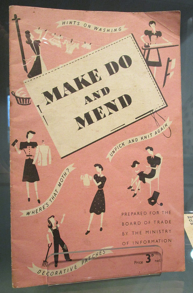 WWII Make Do and Mend Book