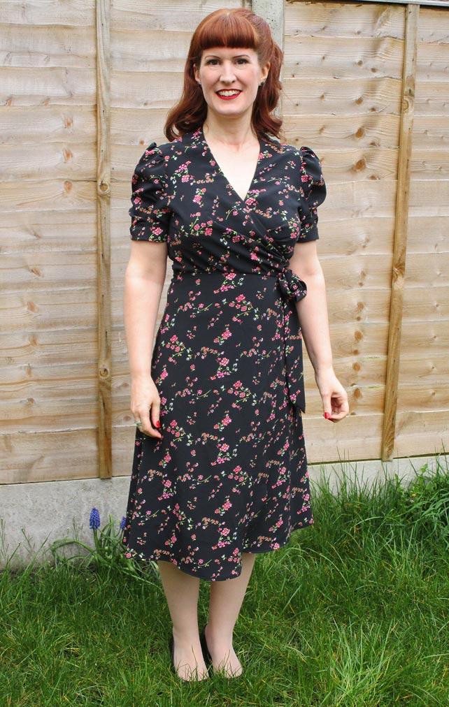 Anna Sui 1940s Dress