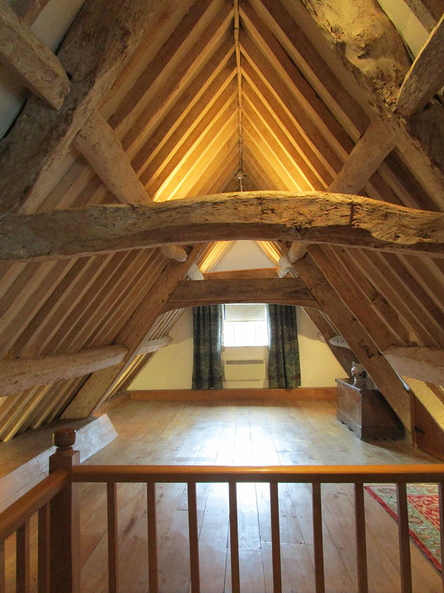 Attic at Kelmscott Manor
