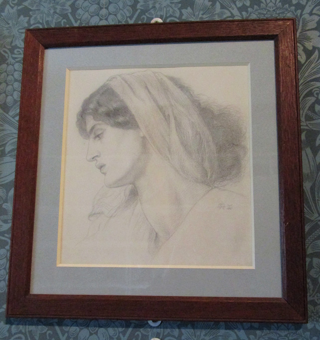 Jane Morris by Rossetti