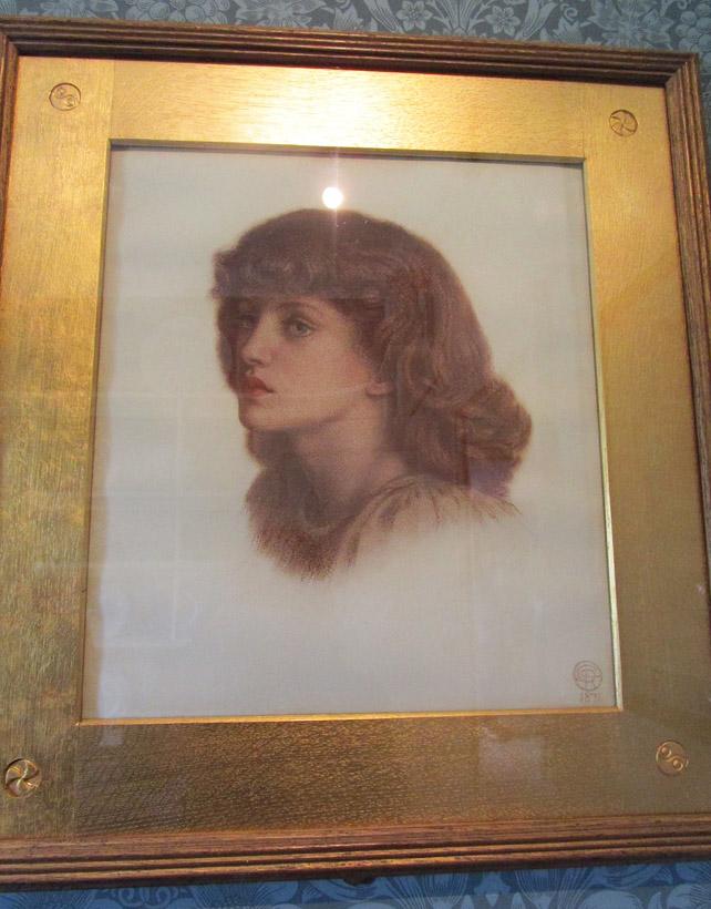 Jenny Morris by Rossetti