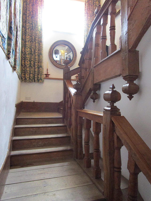 Kelmscott Manor Staircase