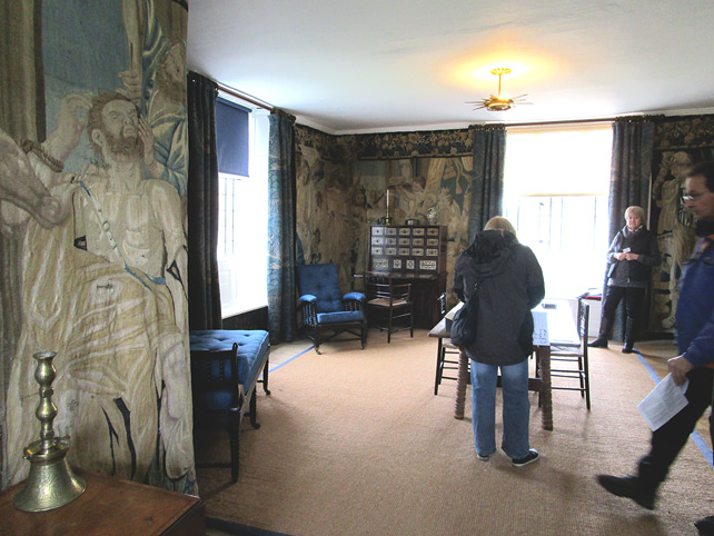 Rossetti's Room at Kelmscott