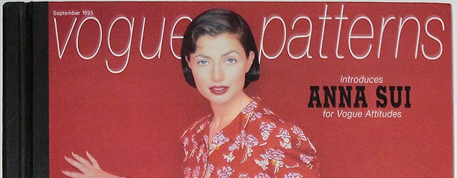 Anna Sui Vogue Patterns 1995