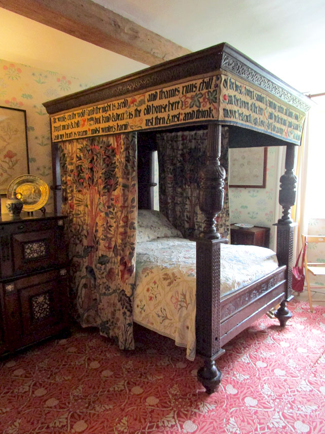 William Morris Bedroom