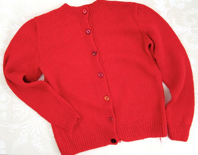 1950s Handmade Cardigan