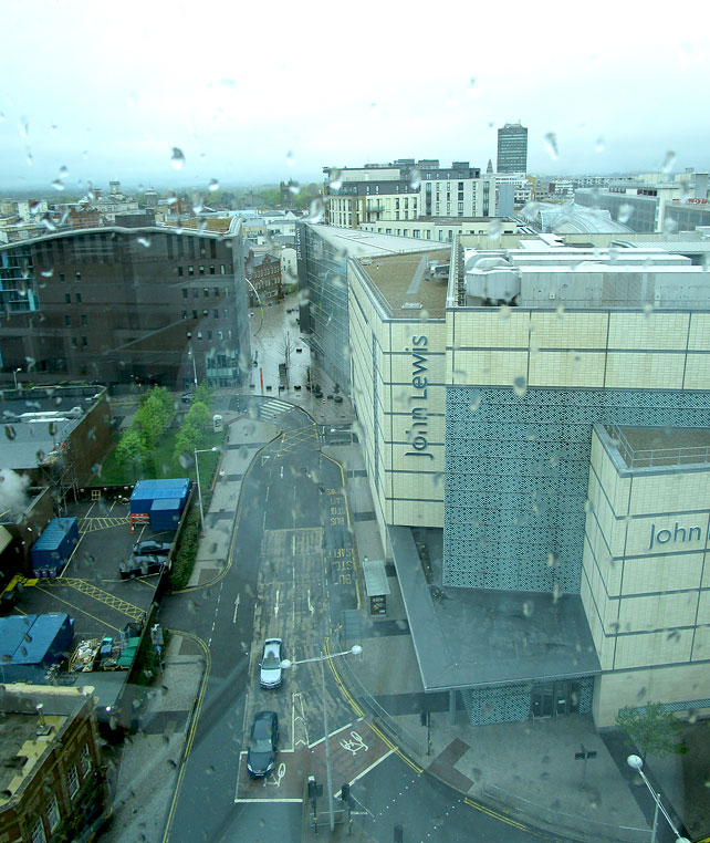 Cardiff from the Radisson Blu Hotel