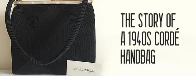 1940s Cordé Handbag