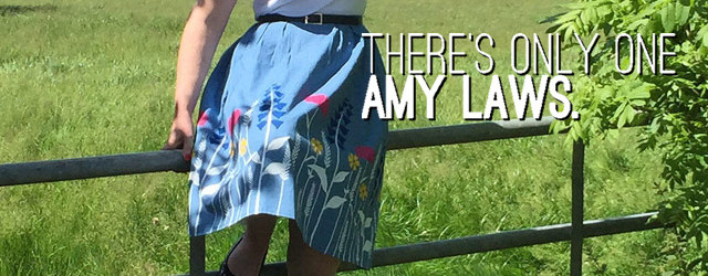 There's Only One Amy Laws skirt