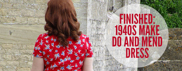 1940s make do and mend dress