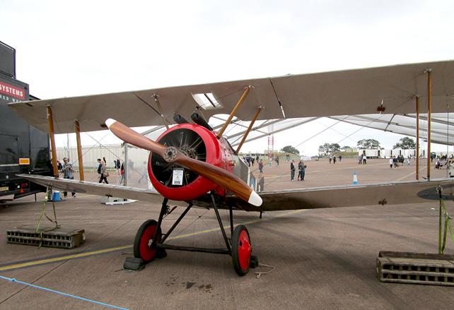 A V Roe Biplane 1908