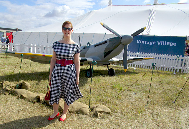 The Vintage Village RIAT 2015