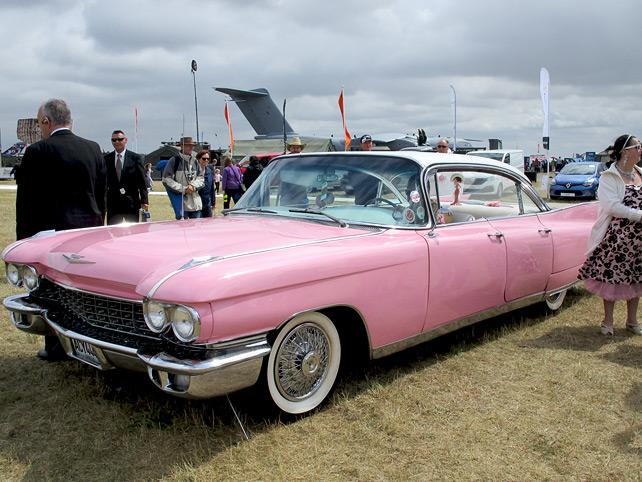 1960 Pink Cadillac
