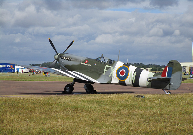 Spirit of Kent Spitfire