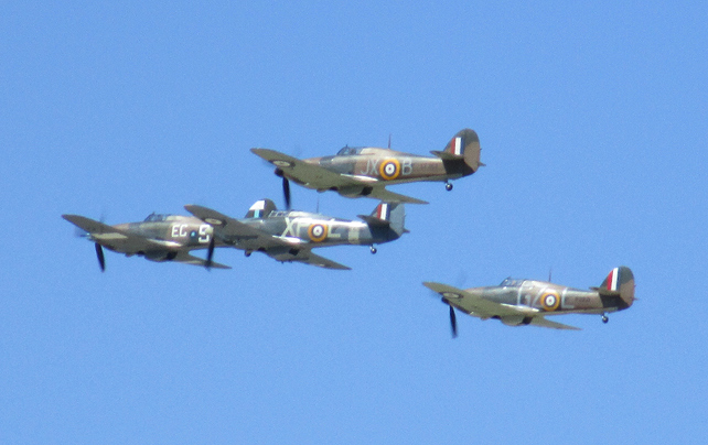 Spitfires at RAF Fairford