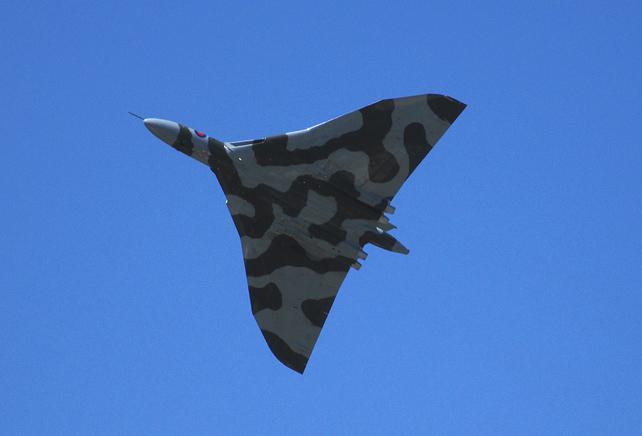 Vulcan Wing Span