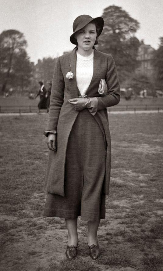 1930s Simple Coat
