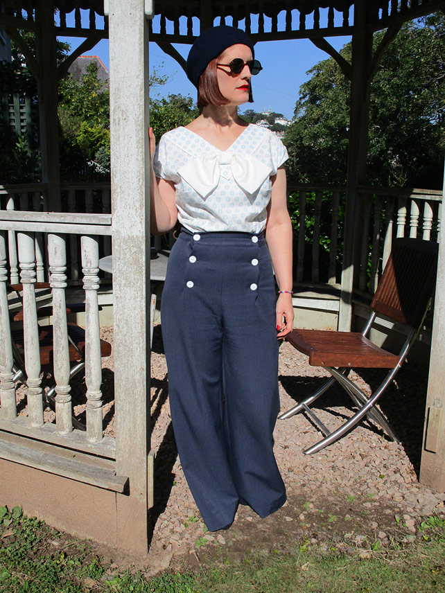 1930s blouse and trousers