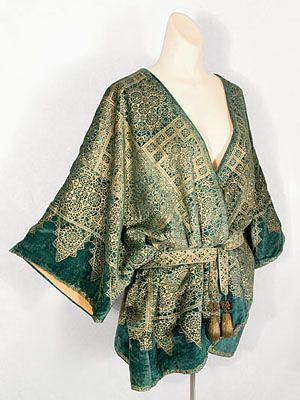 Fortuny 1920s Kimono Jacket