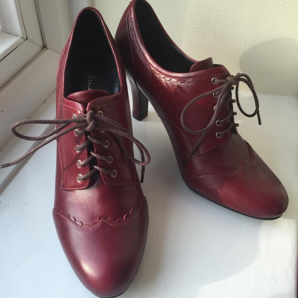 Heeled Oxford Shoes