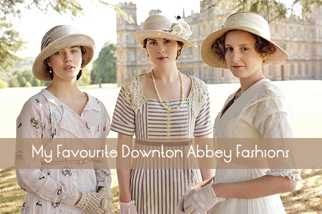 Downton Abbey Fashions