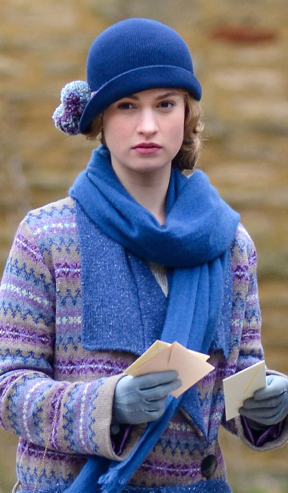Downton Abbey's Rose Wool Ensemble