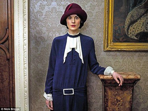 Lady Mary 1920s dress