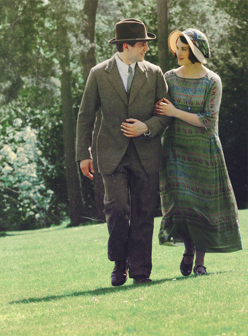 Lady Sybil and Tom