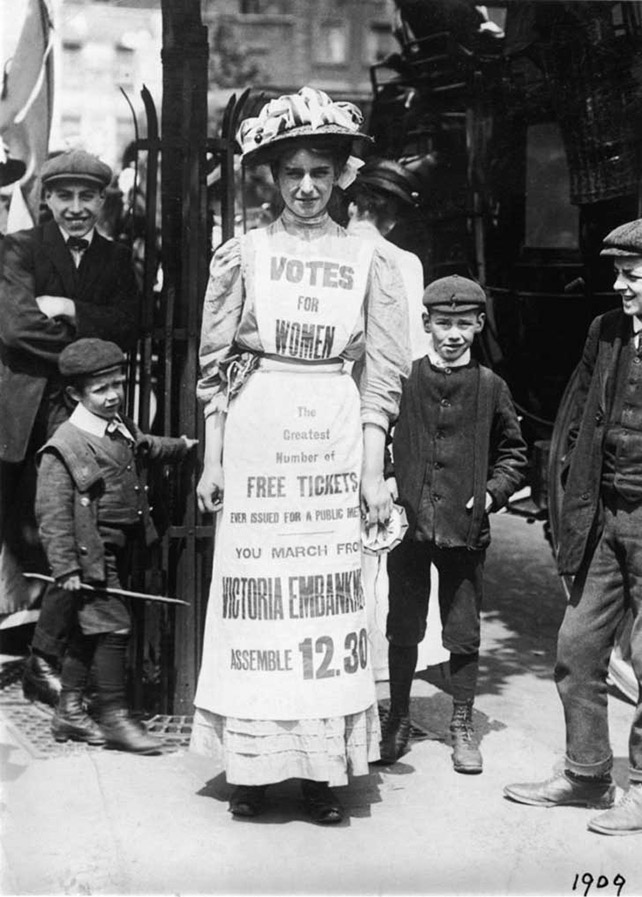 Make More Noise! Suffragettes in Silent Film