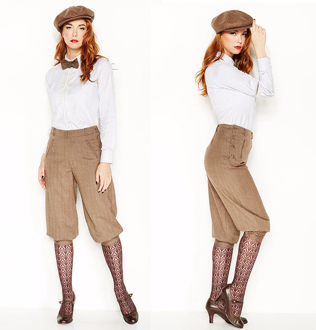 The Clara Knicker - Prohibition Clothing