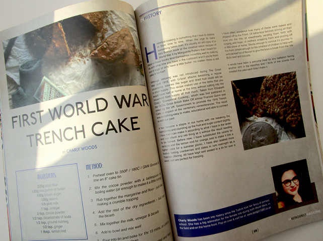 First World War Trench Cake Recipe