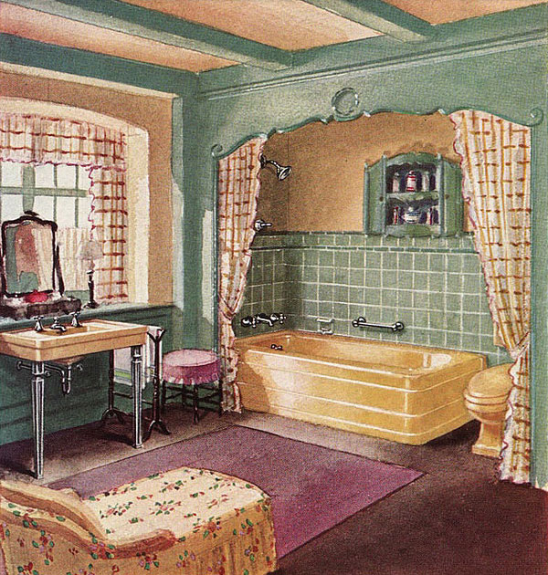 1930s interiors weren 39 t all black gold and drama for 1930s interior decoration