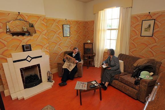 1930s house - Black Country Museum
