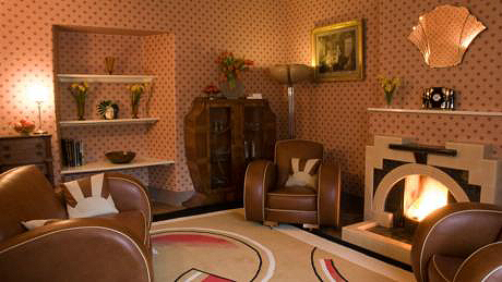 1930s Interiors Weren 39 T All Black Gold And Drama