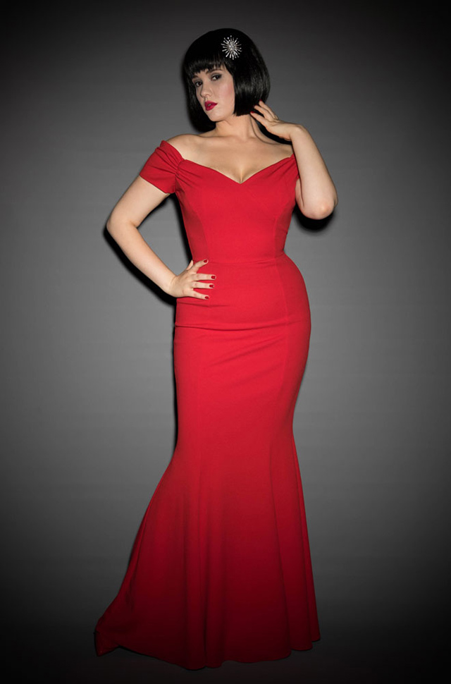 Red Fatale Gown