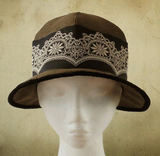 1920s Sybil hat pattern