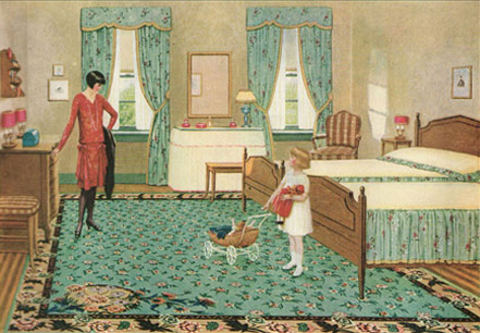 1928 bedroom